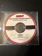 Case IH Farmall Models  90 95 Tractor Dealer Service Repair Manual CD