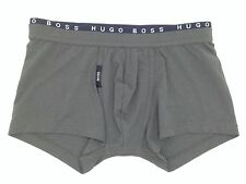 $56 HUGO BOSS MENS GRAY MICROFIBER COTTON UNDERWEAR 50271740 TRUNK BOXER BRIEF S