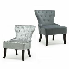 Velvet Bedroom Chairs Ebay