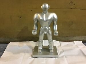 RETIRED LEVENGER THE WRESTLER BOOKEND 1932 OLYMPICS STATUE ART DECO