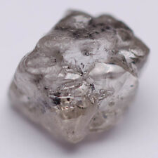 1.34 CARAT NATURAL ROUGH UNCUT NATURAL DIAMOND GEM WHITE OCTAHEDRON ARGYLE