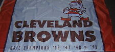 Cleveland Browns Brownie Elf 1964 Championship 3x5 Flag EXCLUSIVE