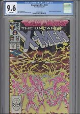 Uncanny X-Men #226 CGC 9.6 1988 Marvel Fall of the Mutants Forge App :New Frame
