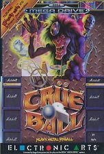## SEGA Mega Drive - Crüe Ball Pinball (nur das Modul, ohne OVP / unboxed) ##