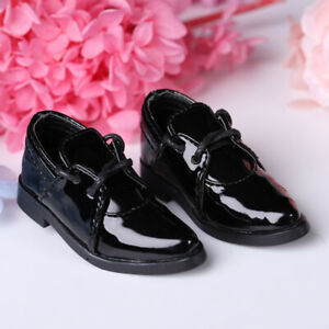New Black leather shoes For 1/4 1/3 BJD Doll SD Doll Boy Body