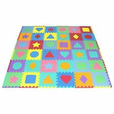Puzzle Play Mats ProSource Kids Foam Floor With Shapes &amp Colors 36 Til 00004000 es, And