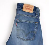 Levi's Strauss & Co Hommes 506 Standart Jeans Jambe Droite Taille W28 L32 APZ824