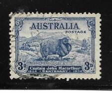 Australia   - Used - 3d Sheep - Scott#  148