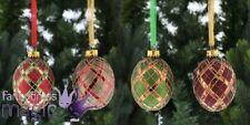 Adornos de bola de metal para árbol de Navidad