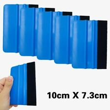 JUST N1 10Pcs Felt Edge Squeegee Blue Scraper Kit Car Decals Vinyl Film Wrapping Tint Cleaning Applicator Tools