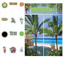 Jimmy Buffett's MARGARITAVILLE  Scene Setter beach party & 12 photo booth props