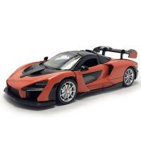 1:32 McLaren Senna V8 Model Car Diecast Supercar Toy Vehicle Gift Kids Orange