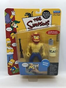 The Simpsons World of Springfield Interactive Ragin' Willie Series 8 Playmates
