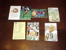 1984-96 Pitt Panthers Football Photo Schedule Lot (6)