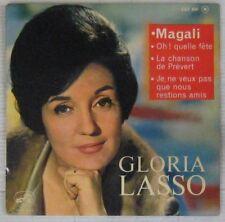 Gloria Lasso 45 tours Serge Gainsbourg La chanson de Prévert 1962
