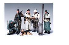 Tamiya 35212 - 1/35 WWII Figuren Dt. Soldaten Befehlsausgabe - Neu