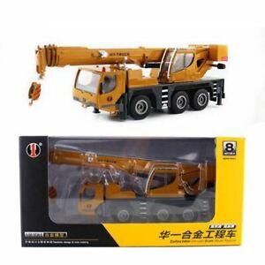 1:50 Heavy Lifting Crane Transport Engineering Truck Alloy Model Children's Toys