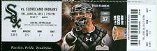 2013 White Sox vs Indians Ticket: Ryan Raburn, Adam Dunn and Jeff Keppinger HRs