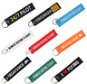 Car Keychain Tag Motorcycle Key Chain Embroidery Ring KeyFob Keyring Gift SALE !