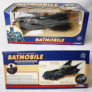 RARE 2000 DC COMICS BATMOBILE 1:18 METAL DIE CAST VEHICLE CORGI NEW SEALED !