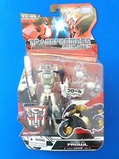 Transformers Animated Prowl Figure by Takara Tomy MOC SEALED Deluxe Import