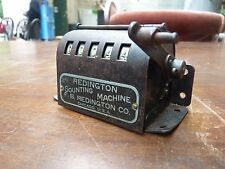 RARE ANTIQUE REDINGTON COUNTING MACHINE COLLECTIBLE MECHANICAL NUMBER COUNTER