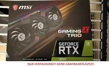 Verpackung einer GeForce RTX 3080 - MSI - Gaming X Trio - NUR VERPACKUNG!