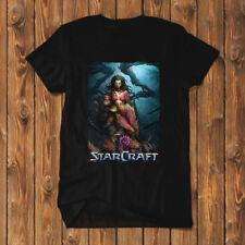 Starcraft Zerg Shirt T-Shirt Men Black Tees SC2-R03