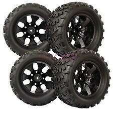 RC 1/10 Monster Bigfoot Off-Road Truck Foam Rubber Tyre Tires Wheel Rim 88035
