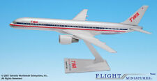 Flight Miniatures TWA AA Merger BOEING 757 200  2001-2002 LIVERY 1:200 Scale