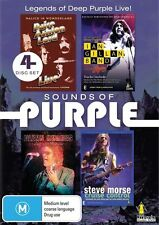 Sounds Of Purple (DVD, 4-Disc Set) BRAND NEW SEALED