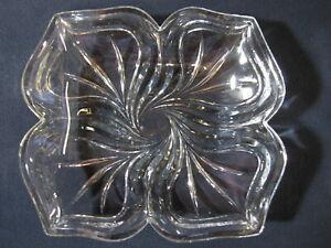 Four Leaf Glass Platter