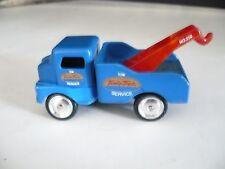 Wrecker truck, MAISTO-- Mini Tonka Toys Tow Service (Blue)