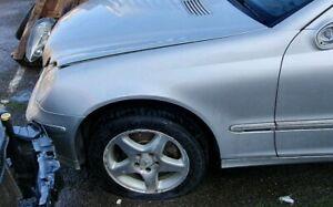 Mercedes C220 CDI Avantgarde SE 2003 Silver. Passenger Wing. Good Condition.