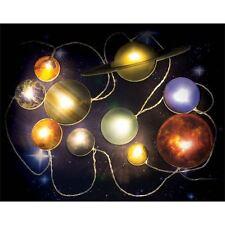 Lichterkette SOLAR SYSTEM mit 10 Planeten 200cm