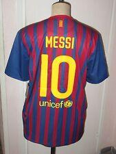 Maillot jersey shirt camiseta trikot MESSI BARCELONA BARCELONE BARCA 2011-2012