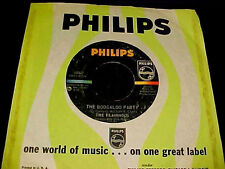 The FLAMINGOS The Boogaloo Party MOD NORTHERN SOUL STOMPER 45 Original HEAR