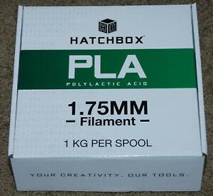 Hatchbox PLA Polylactic Acid 1.75mm Filament 1 KG Per Spool True Yellow