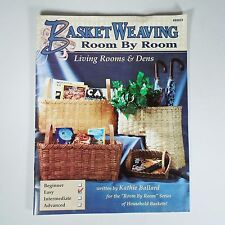 Book Basket Weaving Art Decor Room By Room Living Rooms & Dens by Kathie Ballard