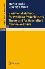 Variational Methods for Problems from Plasticity Theory and for Generalized Newt