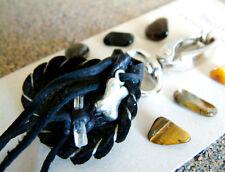 PET PROTECTION CRYSTAL MEDICINE BAG SM Pouch + BONE CHARM + Reiki Gemstones