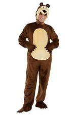 Adulto Masha e Orso Costume da orso