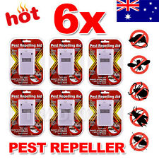 6X RIDDEX Plus Electronic Ultrasonic Pest Control, Repeller, Spiders Rats Mice