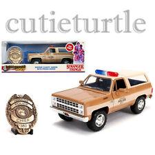Jada Hollywood Rides Stranger Things Hopper's Chevrolet Blazer 1:24 Model 31111