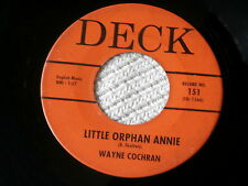 WAYNE COCHRAN~LITTLE ORPHAN ANNIE~IN DEMAND~MONKEY MONKEY~DECK~ NORTHERN SOUL 45