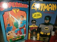 Vintage Batman And Robin And Superman Vhs Tapes Lot Of 2
