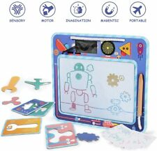 Magna Doodle Magnetic Drawing Board Writing Colorful Painting Pad