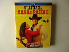 Casa de mi Padre (Blu-ray Disc, 2012) NEW w/slipcover