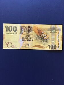 Fijian 100 Dollars Replacement Banknote. Ideal For Collection.