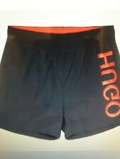 Hugo Saba Navy Swim Shorts Size L